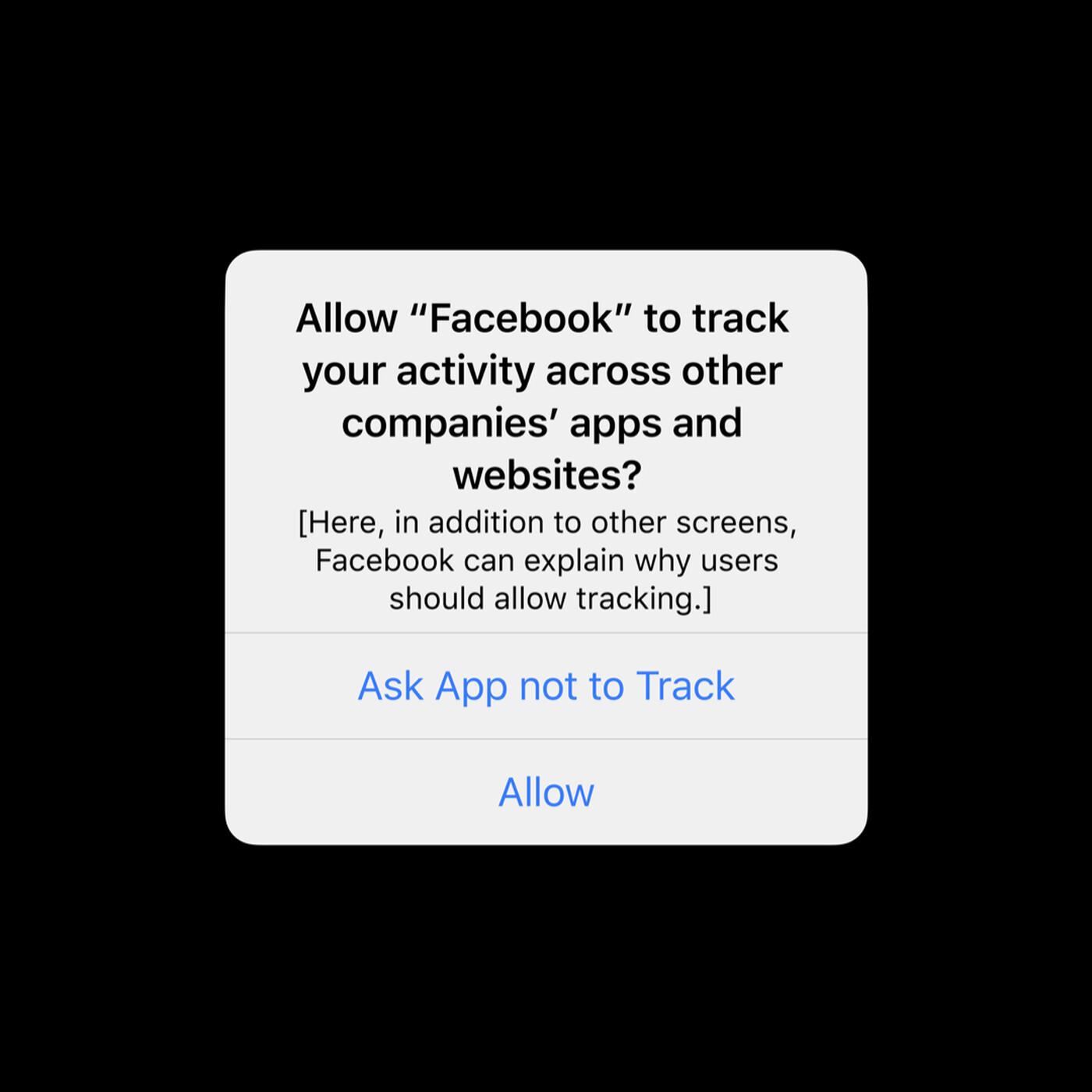 Facebook ATT Prompt